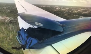 Open Luggage Compartment Forces Plane to Land Early