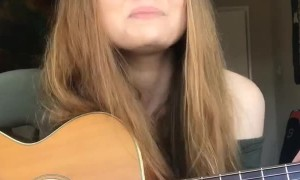Girls Plays Catchy Song about Coronavirus