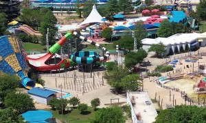 Deserted Theme Park Drone Footage in Texas Due to Covid-19