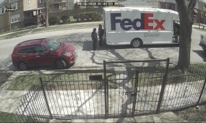 Delivery Driver Haphazardly Tosses Delicate and Expensive Package