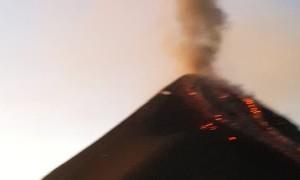 Incredible Eruption of The Fuego Volcano in Guatemala