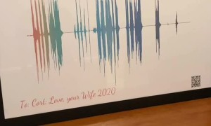 Husband Brought to Tears from Heartfelt Gift