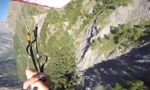 Proximity Speed-Flying in French Alps