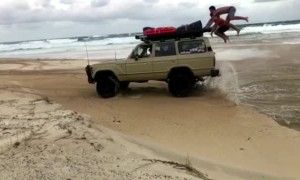 Land Cruiser Launches People
