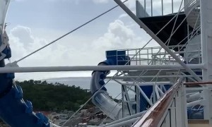 Reverse Ride on the Water Slide