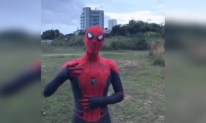 Spiderman gone nuts!