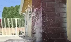 Breaking Water Pipes Workout Fail
