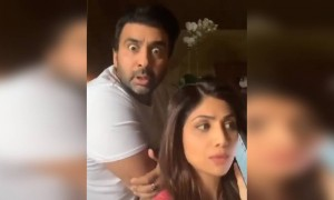 Shilpa shetty and husband having fun