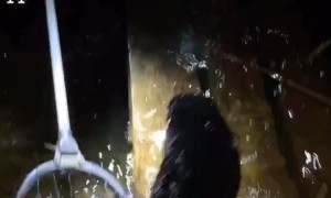 Two Buddies Sink an Old Boat