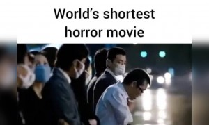 World's shortest horror story!