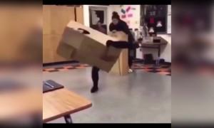 Here comes Mr. Boxman!
