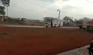 No one is driving this bus - it's being pushed by Cyclone Amphan