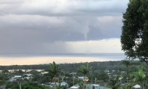 Waterspouts Formed by Severe Storm
