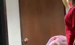 Gecko Lays Claim to Hallway Ceiling