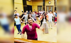 Zumba classes in India be like!