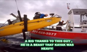 Kayak Kept from Sinking