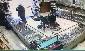 Armed Man in Wheelchair Allegedly Holds up Shop with Feet