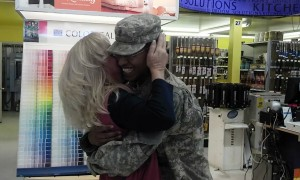 Homecoming Military Surprise