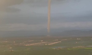 Storm Brings Triple Waterspout Touchdown