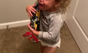 Kiddo Doesn't Realize He's Totally Fine