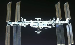SpaceX crew captures jaw-dropping view of space station during approach