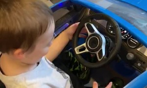 Dad Soups Up Son's Toy Car