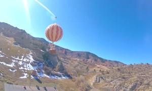 High Altitude Balloon Bursts Over Colorado