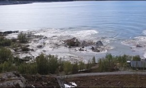 Quick Clay Causes Massive Landslide in Norway