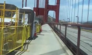 Engineering fail results in unbearably loud bridge sound