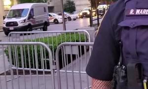 Officer Laughs at Cop Joke