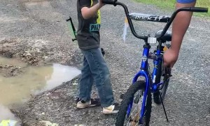 Trash Collectors Come Together to Replace Kid's Stolen Bike