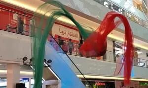 Beautiful Art Installation in Dubai Mall