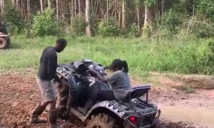 Massive ATV Crash in Mississippi