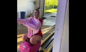Girl Takes Kid's Car Through the Wash