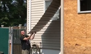 Siding Removal Leads to Face Smack