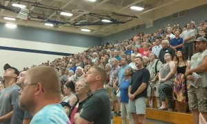Wisconsin High School Ceremonial Song Involves Something Resembling the Nazi Salute