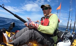 Record Marlin Pulls Kayaker Out To Sea 12 Miles