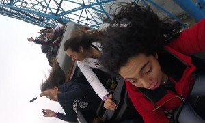 Roller Coaster's Item Bags Spits out Cell Phones
