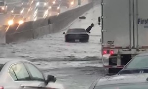 Flooded Freeway Ruins Georgian's Jordans