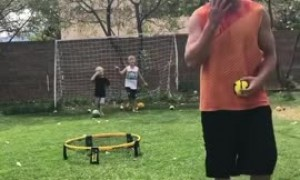 This dude's unbelievable accuracy will have you in stitches!