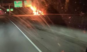 MARTA Bus Catches Fire