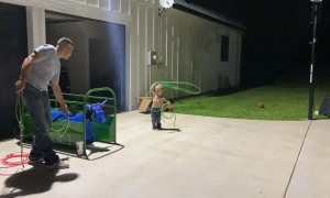 Cute Cowboy Wrestles and Ropes