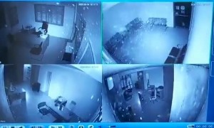 Office footage captured 2 miles away from Beirut blast shows impact of explosion