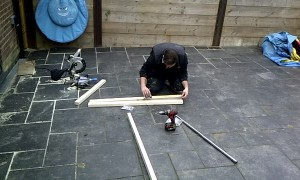 Crafty Father Constructs a Slide Bed For His Daughter