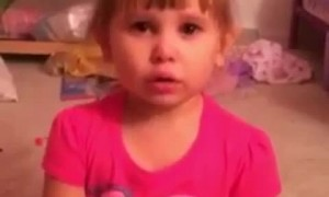 Little Girl Explains Why She Painted Her Barbie With Nail Polish