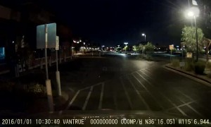 Parking Lot Lights Flash Like EDM Party