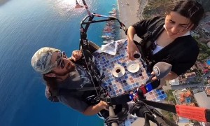 Paragliding Over a Cup of Coffee