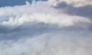 Aerial footage captures magnitude of California wildfires