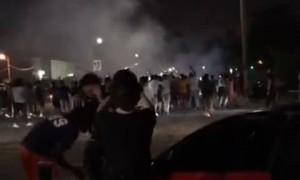 Street Skids Lead to Car Being Slammed