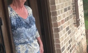 Woman Receives Strange Proposal at Front Door